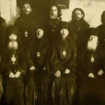 Priests, archbishops and a metropolitan imprisoned in the Solovetsky labor camp (1926). Solovetsky, a thriving monastery before the Bolshevik takover, was returned to the Russian Church in 1990. Source: Tomas Kizny