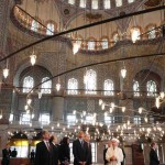 Obama in the Blue Mosque