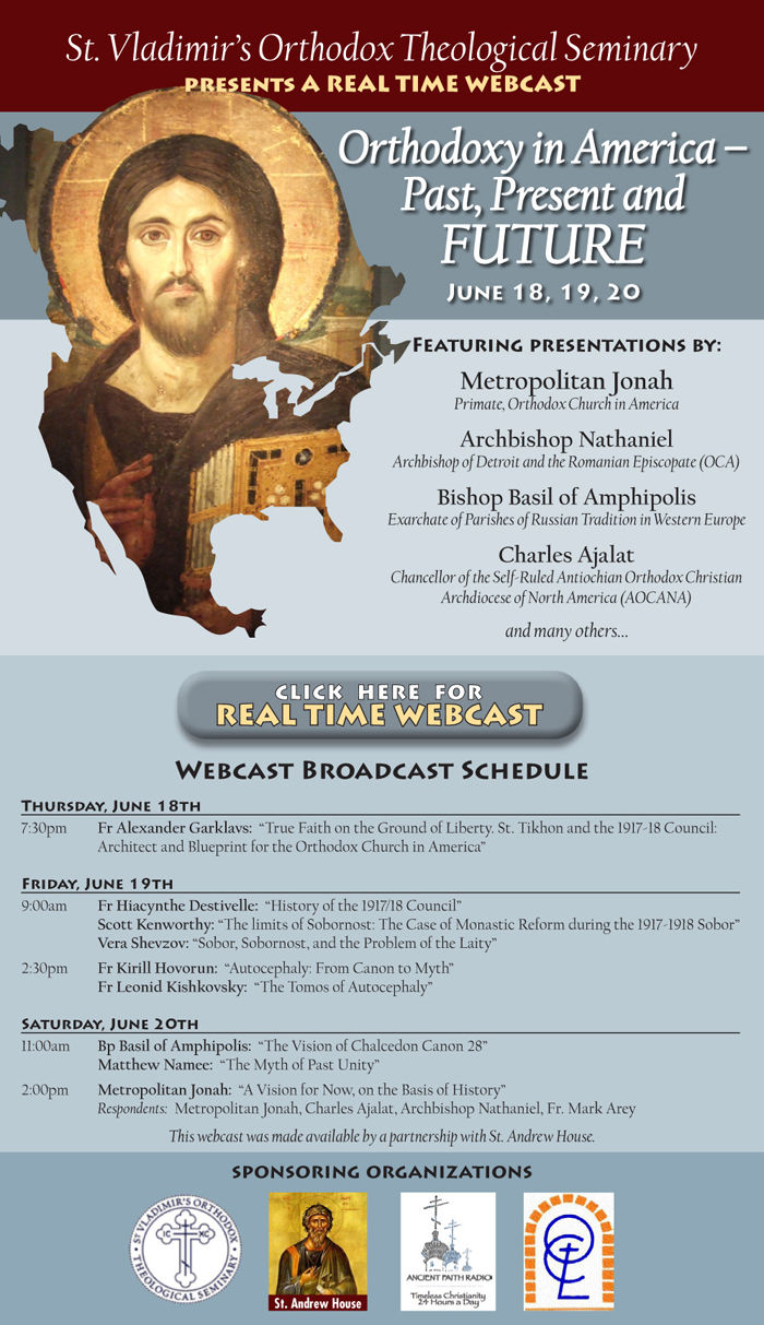 Orthodoxy in America -- Past, Present and FUTURE