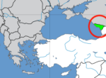 Location of Abkhazia in Europe