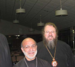 Participating Hierarchs including (L to R): Bishop Melchisedek, Diocese of Pittsburgh, Bishop Thomas, Diocese of Charleston, Oakland and Mid Atlantic, His Beatitude Jonah  Metropolitan of All America and Archbishop Nathaniel of Detroit.