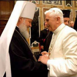 Pat. Kyrill and Pope Benedict