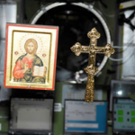 Relics, icons, and crosses onboard International Space Station