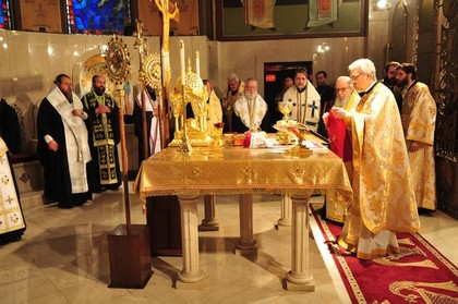 Divine Liturgy concluding the Episcopal Assemby - 2010