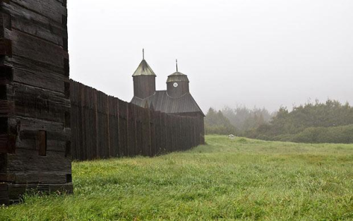 Fort Ross - Russian outpost on the California coast