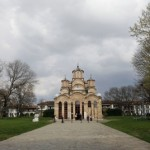 General view of the Orthodox Monastery in Gracanica, Kosovo, 08 April 2010. The Gracanica monastery has been placed on UNESCO's World Heritage List under the name of Medieval Monuments in Kosovo, on 13 July 2006. Photo: EPA
