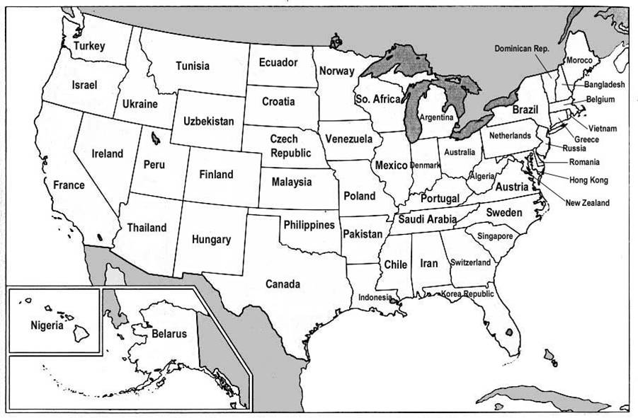 If states were countries…