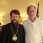 WRR Dallas: Interview with Met. Hilarion, Meets Former President George Bush