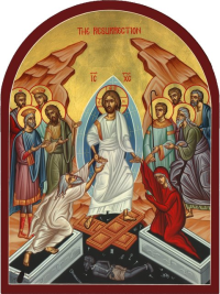 Image result for christ is risen orthodox
