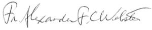 Fr. Alexander F. C. Webster