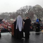 Met. Jonah Leads Prayer at March for Life