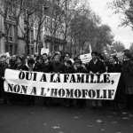 100,000 French Protestors Say No to Homosexual Marriage