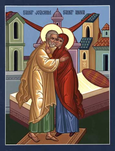 Joachim and Anna -- Parents of the Theotokos and Exemplars of Marriage