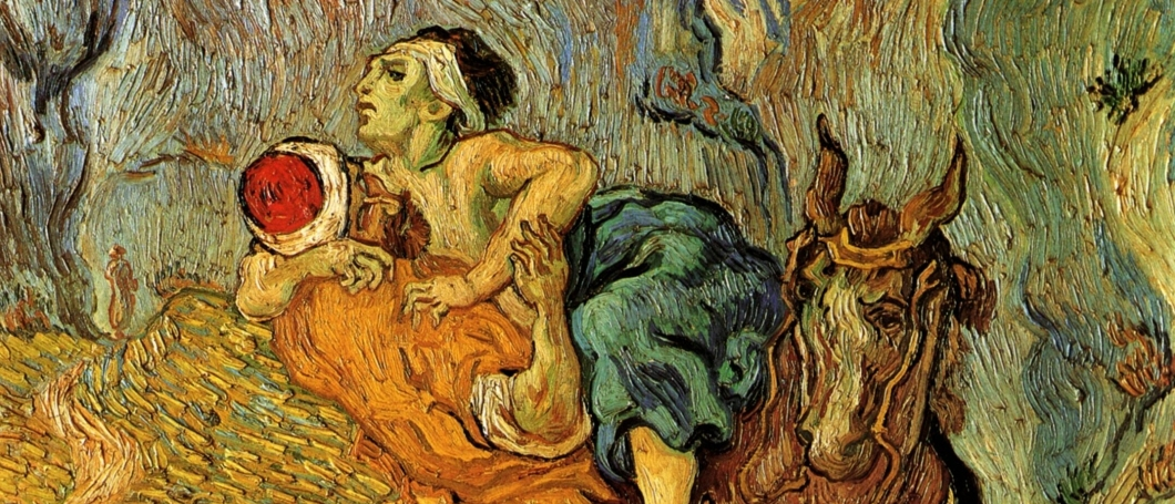 The Good Samaritan by Van Gogh (Detail)