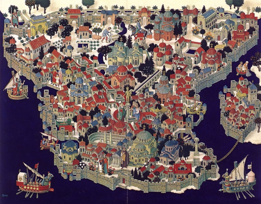 Constantinople in the late medieval era