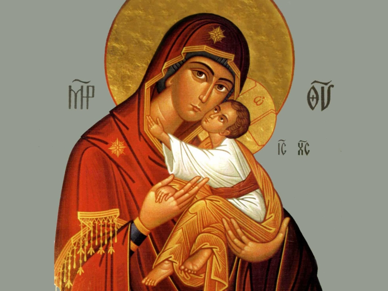 Theotokos and Christ Child