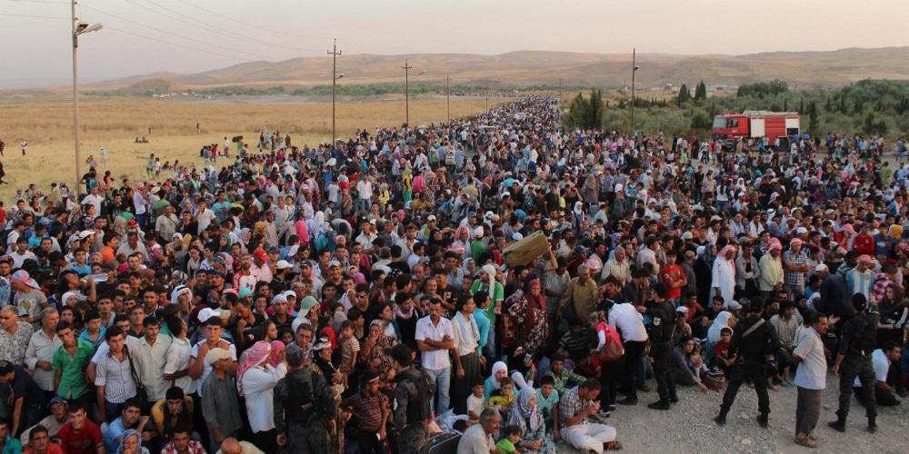 European Refugees Entering Europe