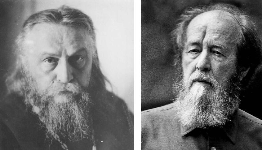 Sergei Bulgakov (1871-1944) and Alexander Solzhenitsyn (1918-2008)