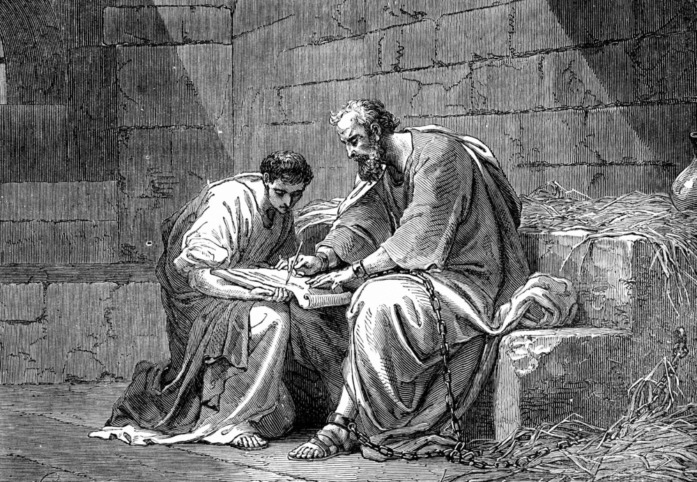 St. Paul Instructing Timothy