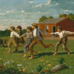 Snap the Whip by Winslow Homer, 1872